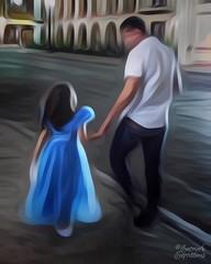Daddy Date (amarilloladi) Tags: hss sliderssunday fatherhood father princess cinderella daddydate fatheranddaughter