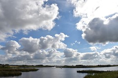 Waterpartijen nabij het Leekstermeer (Maarten Kroon) Tags: wolken landscape waterland drenthe flickrbestpics