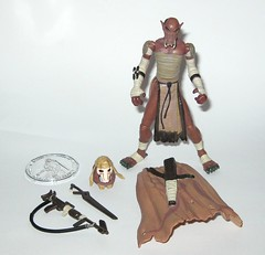 qymaen jai sheelal pre-cyborg grievous star wars the thirtieth anniversary collection basic action figures with coin 2007 hasbro a (tjparkside) Tags: star wars thirtieth anniversary collection 30th qymaen jai sheelal expanded universe eu tac pre cyborg precyborg grievous general visionaries 2007 3036 30 36 basic action figure figures hasbro collector collectors coin bone mask cape harness outland rifle sword swords rifles gun weapon weapons kaleesh warlord