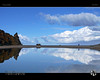 The Reflecting Pool (tomraven) Tags: reflections sky clouds sun people pool water beach inlet aireysinlet victoria australia tomraven aravenimage q32010 q32016 repost pentax k20d