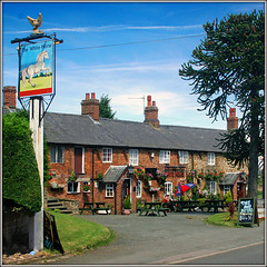 The White Horse, Norton (Jason 87030) Tags: pub inn norton village northants northamptonshire beer summer july 2007 uk england unitedkingdom greatbritain thewhitehorse square frame border nice tree sign customers punters people life scene canon computer visiting effect exhibition portfolio camera shot site photostream presented fascination extreme visit display vista weather season 2016 media amateur benches