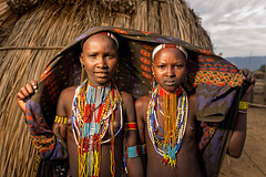 The Arbore (Omo Valley, Ethiopia 2014) (Alex Stoen) Tags: 1dx africa african alexstoenphotography arbore canoneos1dx creativelighting culture ef1635f28liiusm ethiopia geotagged natgeo nationalgeographicexpeditions omovalley pair pocketwizard portrait tradition travel tribes vacation offshoeflash