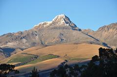 Illiniza Sur (Ryan Hadley) Tags: illinizasur illiniza volcano sunrise alpenglow landscape chuquiragualodge avenueofthevolcanoes ecuador southamerica mountains andesmountains