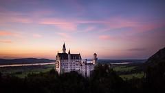Neuschwanstein (florian.diebold) Tags: longexposure sunset nd castle germany bavaria schwangau neuschwanstein