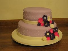 Bouquet Lilas e rosa (Confetti & Cupcakes) Tags: cake bar spider cupcakes high mini confetti evento beb bolo casamento convite festa aniversrio ch aranha marmita drika homen monter personalizados novaes gostosos decorados