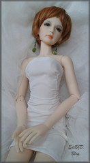 Lovely Jane... (Ediik) Tags: green island ginger doll jane skin jewelry sd wig short bjd islanddoll