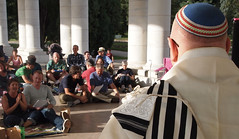 "Pride Shabbat • <a style=""font-size:0.8em;"" href=""http://www.flickr.com/photos/13831765@N07/7775482972/"" target=""_blank"">View on Flickr</a>"
