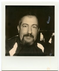 .. (Js) Tags: portrait blackandwhite polaroid lunch sx70 epson impossible px100 v700 roidweek silvershade topwci2 desottos