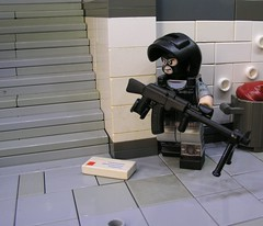Spetsnaz Support (ORRANGE.) Tags: eclipse mod lego helmet russian orrange customs grafx paintjob tig spetsnaz brickarms