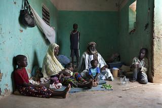 West Africa food crisis 2012: fugitive families