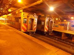 Engineers, Start Your Trains! (ctabusphotographer) Tags: station electric evening tracks trains millennium rush hour harvey emu metra universitypark randolph flossmoor highliners metx