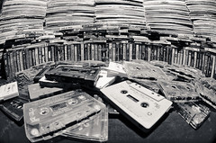 Tapes and Records! (John Carbis) Tags: blackandwhite nikon vinyl hiphop tapes d7000