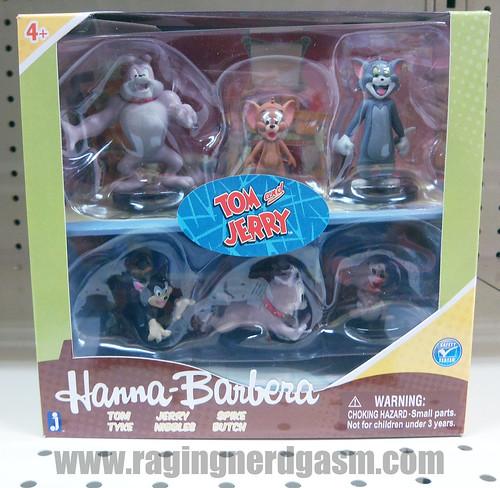 Hanna Barbera Classic Cartoon Characters Tom and Jerry