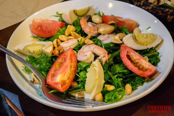 Paco Salad from Binulo Restaurant in Clark, Pampanga