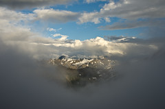 The Bugaboos - Sky Opening Above Applebee Camp (Tideline to Alpine Photo, Idiosyncrasy Exemplified) Tags: camping sky snow mountains expedition clouds spires adventure climbing alpine views mountaineering wilderness basecamp alpinism bugaboos thebugs alpineclimbing bugabooprovincialpark openingsky applebeecamp applebeedome