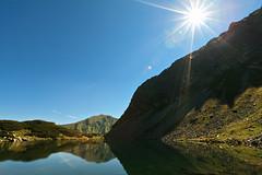 Roháčske pleso (Norbert Králik) Tags: sun mountains reflection tatras canoneos5d pleso canonef1635mmf28liiusm roháčske