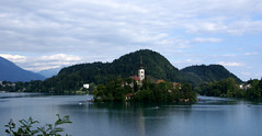 The Church in the Lake (little_frank) Tags: wood trip travel summer mountain lake alps green church nature water beautiful beauty skyline forest alpes woodland wonderful landscape photography nice scenery europe mood peace village place natural cloudy outdoor hill dream picture azure surreal greenwood peaceful tranquility windy natura curvy surface belltower mount belfry slovenia alpine fantasy silence valley vegetation bled romantic rowboat mystical dreamy marienkirche isle idyllic sanctuary impressive mystic inspiring paesaggio pleasant jewel wooded bleda rowingboat mountainous bledisland touristdestination veldes blejskojezero uppercarniola