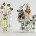 226. Antique Staffordshire Figures