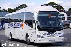 National Holidays Hull YT12YTY. (EYBusman) Tags: road park bus century coach holidays yorkshire arnold pb east national independent wallace hull scania bridlington demonstrator shearings irizar anlaby hilderthorpe eybusman yt12yty