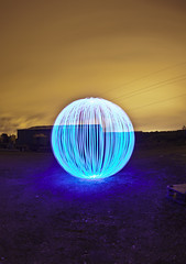 Orbtastic ([Nocturne]) Tags: uk nightphotography blue light sky orange lightpainting abandoned night painting photo orb orbs nocturne lightpollution lpp noctography lightupthedarkness jimbarrys lightpaintingphotography lpuk wwwnoctographycouk