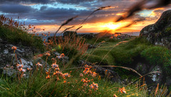 Everything In Colour (Glenn Cartmill) Tags: uk sunset summer sky clouds canon eos scenery colours unitedkingdom glenn scenic august londonderry northernireland portstewart darkclouds 2012 amazingsunset countylondonderry cartmill 650d t4i bencantelon glenncartmill everythingincolour