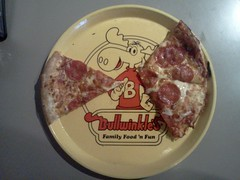 Bullwinkles Family Fun Center - Pizza Tray (daniel85r) Tags: chuckecheese animatronic jayward showbizpizza bullwinkles rockyandbullwinkle