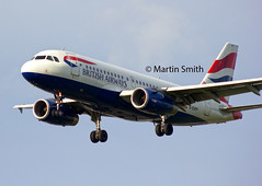 British Airways A319-131 G-EUPP (msmithuk22) Tags: heathrow aviation ba britishairways arrivals martinsmith airplanelanding a319131 airbusa319100 geupp heathrowlanding heathrowarrivals aircraftbody heathrowlandings