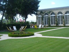 Chateau Branaire Ducru garden view