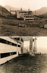 Power Plant Plues (Spitting Doc) Tags: road plant fuji power kodak main kyrgystan lith se5 bromesko gsw680