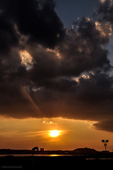 (Valentina Mura) Tags: sunset sky sun nikon tramonto d90 nikond90 valentinamura