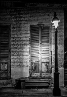 French Quarter Street Lamp