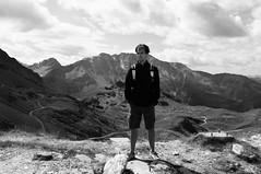Untitled (Kevin Vanden) Tags: bw white black france mountains alps monochrome les alpes french rouge photography 2000 arc reserve fujifilm mont arcs pourri aiguille x100 villaroger