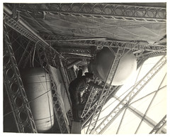 Photograph of a Side Corridor on a Dirigible, ca. 1933 (The U.S. National Archives) Tags: aircraft aviation zeppelin airship usnavy usn goodyear dirigible lighterthanair navalaviation unitedstatesnavy goodyearzeppelin ussakron usnationalarchives zrs4 ussakronzrs4 nara:arcid=6708575 goodyearzeppelincorporation