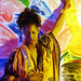 Gina in Somali Cloth Philadelphia Studio July 1997 019