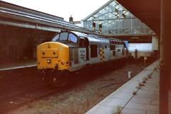 Aberystwyth, 1st July 1992 (elkemasa) Tags: aberystwyth 1992 class37
