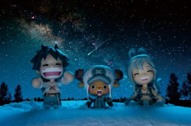 BEAMS限定海賊王「one piece@be.smile~CHIKAI セット~」下雪篇