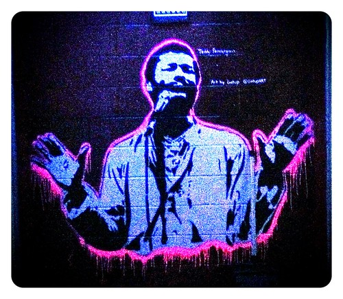Get Up Teddy Pendergrass inside Electric Factory