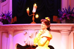 Enchanted Tales with Belle (insidethemagic) Tags: princess disney lumiere belle waltdisneyworld magickingdom preview newfantasyland beastscastle enchantedtaleswithbelle mauricescottage
