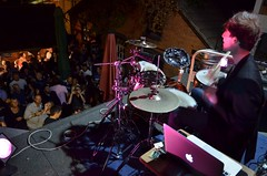 iDrum on the roof at The Bull, Colchester (timabbott) Tags: music drums percussion live buckets colchester idrum thebull