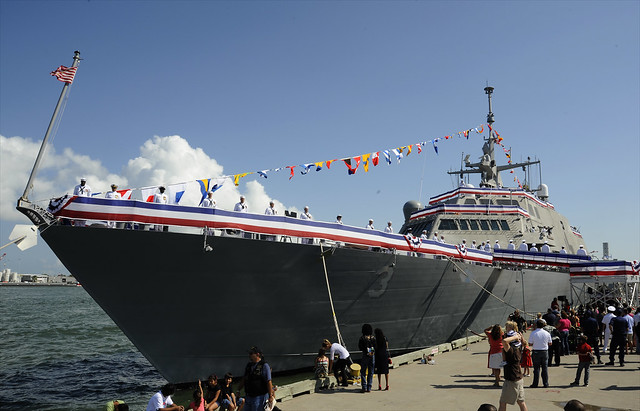 USS Fort Worth Comes to Life