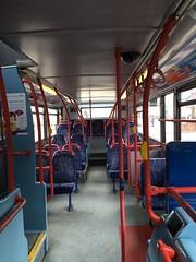 4326 interior (Enviro400) Tags: bus interior westmidlands nationalexpress dennistrident nxwm