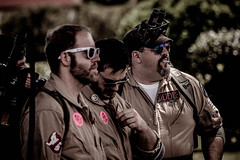 ghostbusters (timp37) Tags: cosplayers cosplay ghost busters illinois showmens rest august 2016 forest park woodlawn cemetary biddle