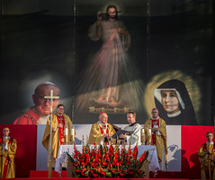 Holy Mass for the New Evangelisation (Catholic Church (England and Wales)) Tags: holy mass for new evangelisation with act entrusting gods providence entrance through gate mercy temple divine warsaw
