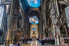 Im Inneren vom Stephans Dom - Inside of the Stephansdom in Vienna (ralfkai41) Tags: kathedrale dom sterreich church historical austria cathedral architecture kirche vienna architektur stephansdorm wien
