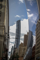 Curved Building (Immature Animals) Tags: curved glass building reflection nyc new york city