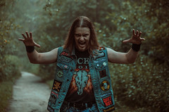 IMG_5131 (rodinaat) Tags: longhair longhairman longhairedman longhaired beard bearded metal metalhead powermetal trashmetal guitar musican guitarplayer brutal forest summer sun