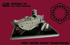 IDSMO-R2- First Order Troop Transporter (KevFett2011) Tags: kevfett2011 starwars episodevii vii theforceawakens firstorder troop transporter lego ids moc olympics 2016 contest