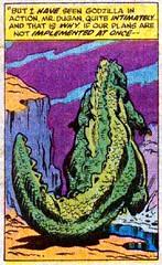 I have seen Godzilla in action (Tom Simpson) Tags: godzilla godzillakingofthemonsters comics comicbook vintage art kaiju 1977 1970s herbtrimpe jimmooney dougmoench marvelcomics