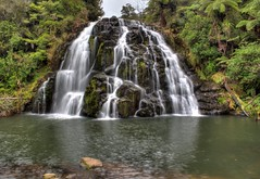 Owharoa Falls (vicmarnz) Tags: hdr karangahake waterfall newzealand owharoa