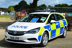 GK16 JYD (S11 AUN) Tags: kent police newshape vauxhall astra sports tourer estate unmarked drivertrainingvehicle driver training unit driving school incident response area patrol panda car drivingschool 999 emergencyvehicle gk16jyd